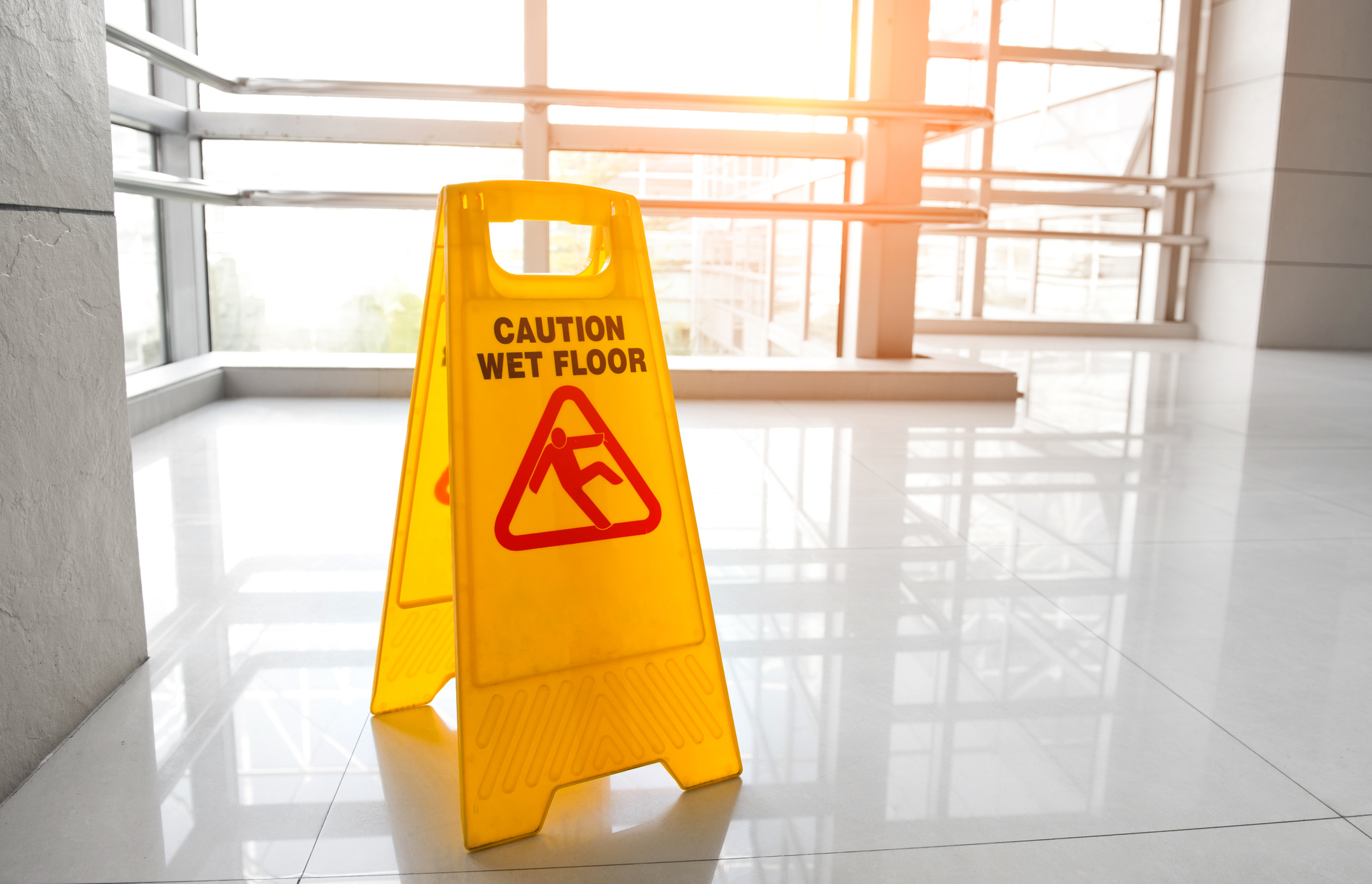 image of slip and fall risk